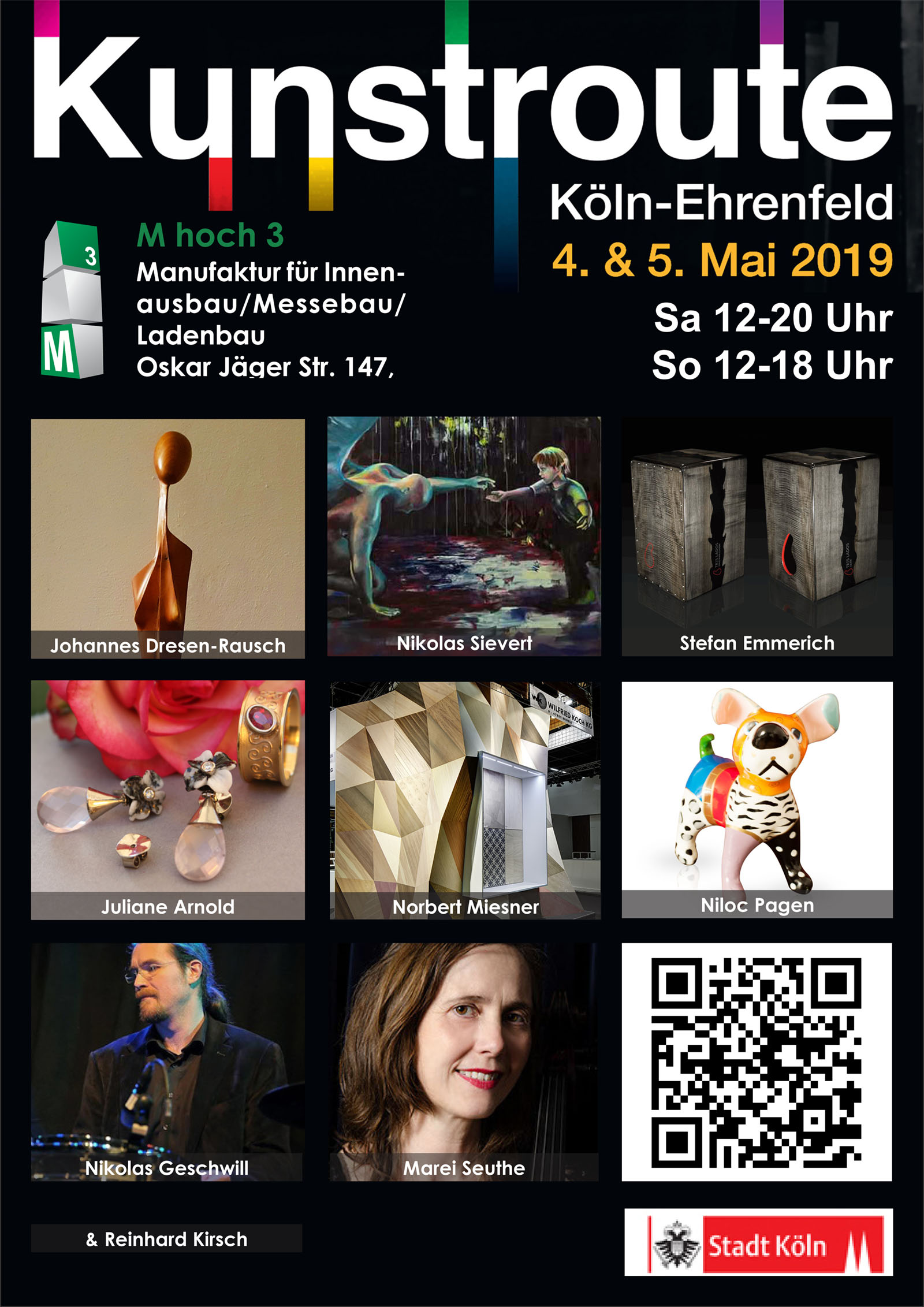 Poster Kunstroute 2019